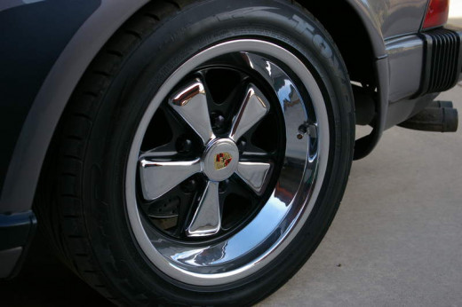 A nicely polished rim will look flashy and new, making your car look much better.