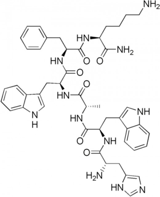 Hexapeptide (GHRP-6) - A tiny molecule