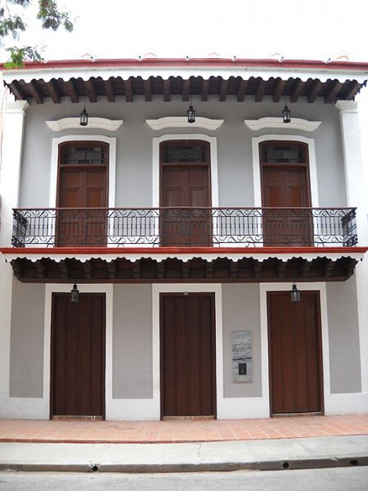 This is the birthplace in Bayamo, Cuba of Carlos Manuel de Céspedes del Castillo, the landowner who freed his slaves in 1868 and declared independence from Spain. In April 1869, he was chosen President of the Republic of Cuba in Arms.