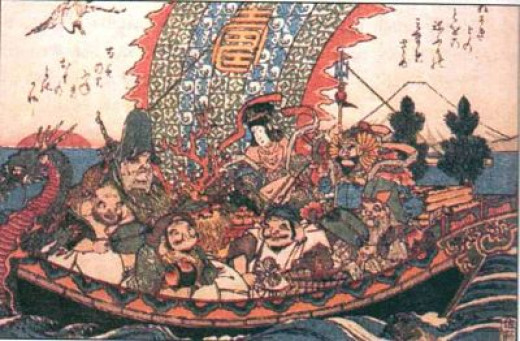 Takarabune, the treasure boat