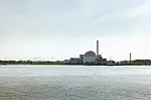 nuclear waste plants on riversides