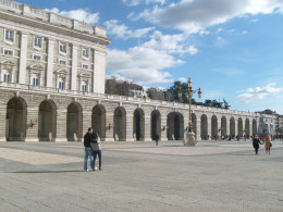 The right wing of the palace