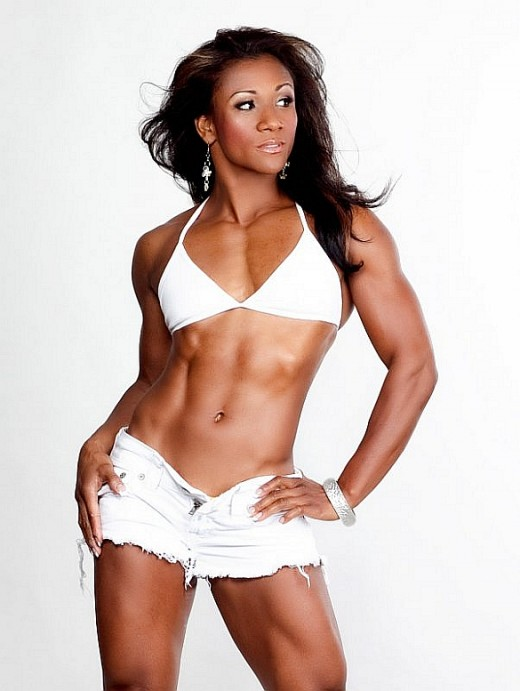 Tanji Johnson - Female Fitness Competitors