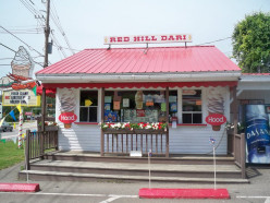 """Best Lobster Rolls Around"" at Red Hill Dari in Moultonborough, NH"