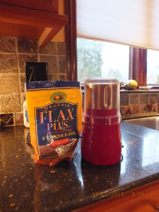 I like to fresh grind my flax seed for optimum nutritional benefits.