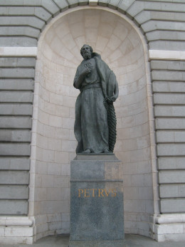 A statue of St. Peter