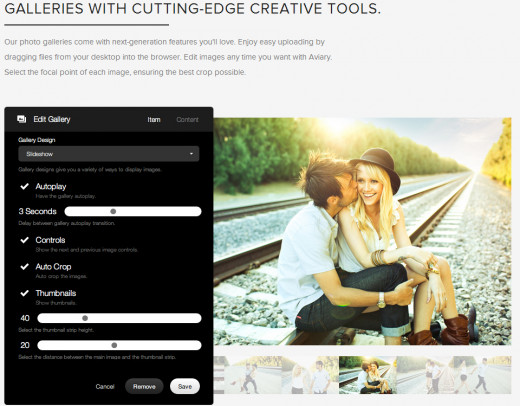 Create wonderful websites with Squarespace 6