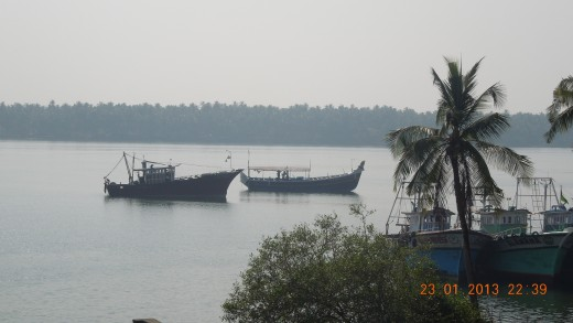 The fascinating Chaliyar River, near Beypore