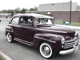 My husband's first classic car.