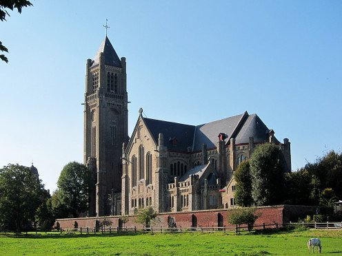 Church of St. Peter and St, Paul, Warneton, Belgium