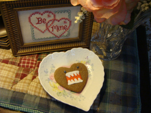 Domo may be a little nontraditional for Valentine's Day, but still sweet!