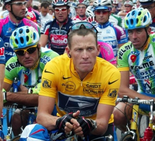 Lance Armstrong promoted the myth that he did not believe in sports enhancing drugs and never used them. He won 7 Tour de France races and then lost them.