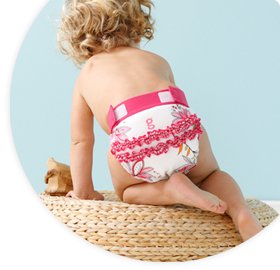 gDiapers are not only Eco-friendly, but come in oh-so-adorable designs.