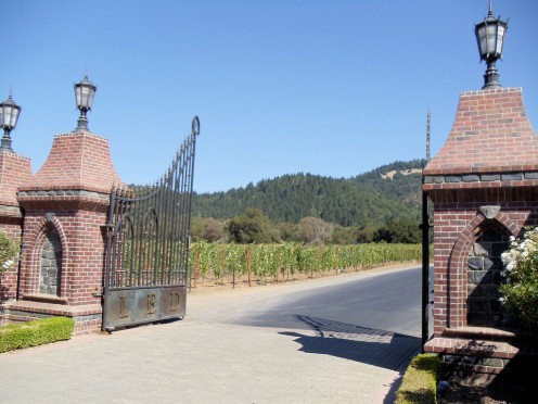 Ledson Winery and Vineyards, Santa Rosa, California, USA