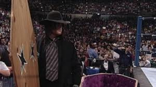 The Undertaker was the inspiration for the casket match in wrestling.