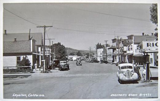 Loyalton Ca. 1948