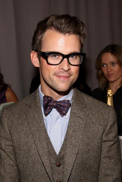 A geek chic style involving a bow tie.