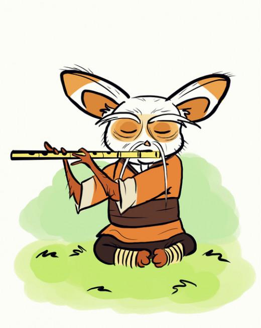 Inner peace, Master Shifu: Kung Fu Panda 2