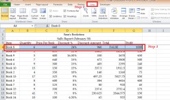 How to freeze a range of cells in Microsoft Excel?
