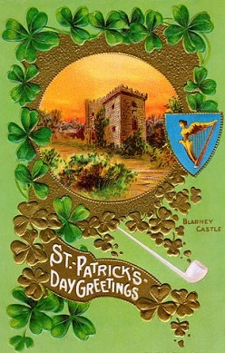 Vintage Saint Patrick's Day Greeting Cards