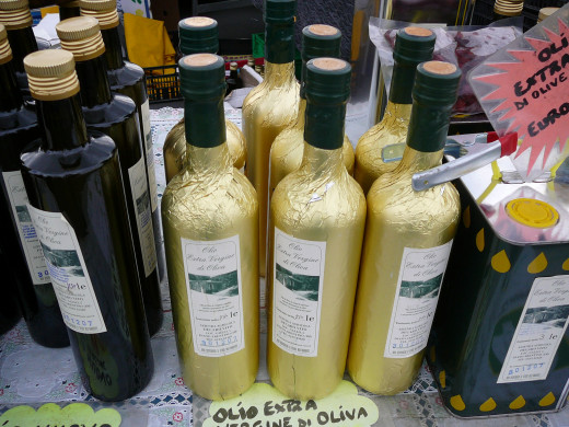 Olive oil for purists