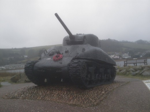 Exercise Tiger Memorial, Torcross, Devon, UK