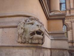 One of the Sydney, Australia lions. Very British Empire.