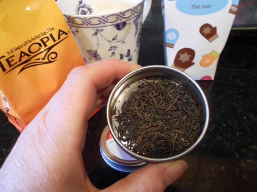 """Black Loose Tea from Silk Road Teas  """" London Fog"""""""