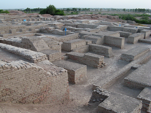 The ruins of Mohenjo Daro in modern-day Pakistan.
