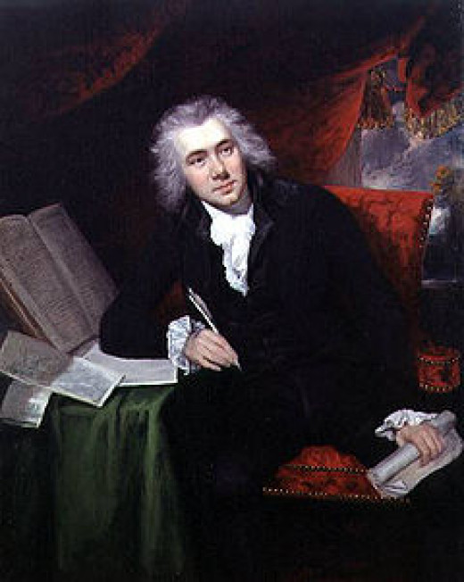 William Wilberforce by John Rising, 1790 pictured at the age of 29.