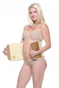 Using a Belly Wrap for After Pregnancy