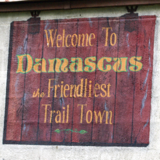 Damascus , VA has a reputation as one of the friendliest trail towns on the AT