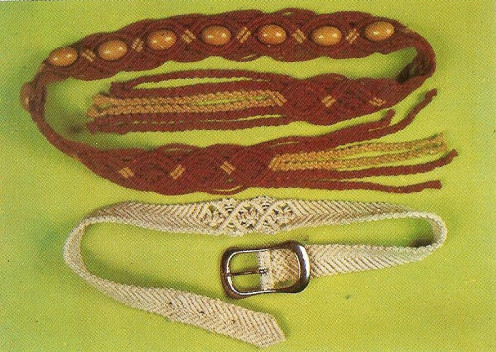 Macrame Belts - Buckle Belt & Tie Belt