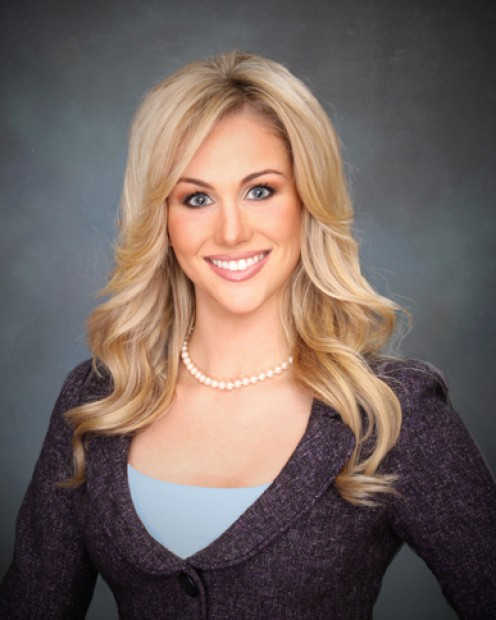University of Missouri senior and KOMU-TV reporter Candice Crawford.