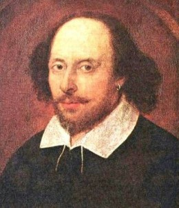 William Shakespeare - portrait 1610