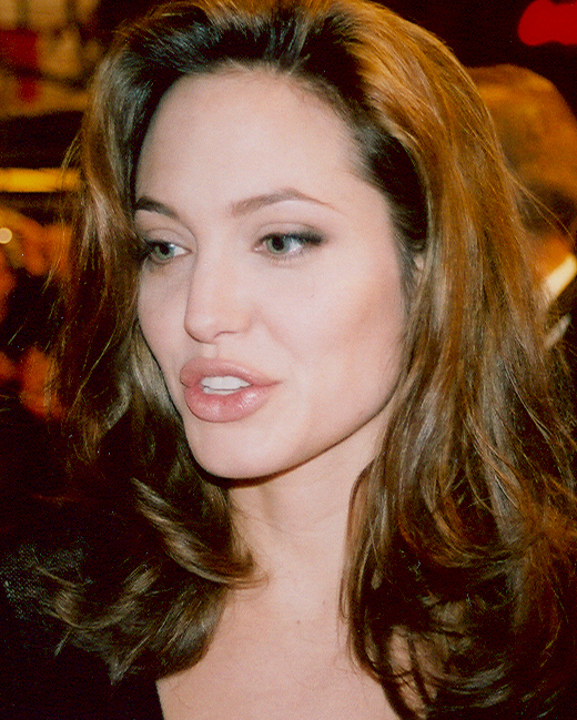 another pair of gorgeous lush lips belongs to actress Angelina Jolie.