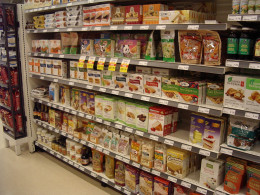 Gluten Free Shelves:  You can claim rebates on your tax if you buy Gluten Free food.