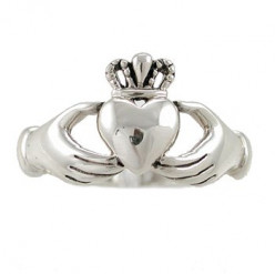 Silver Sterling Claddagh Ring