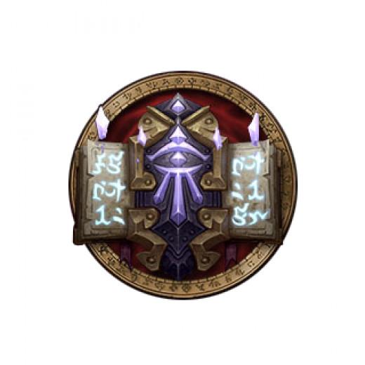World of Warcraft Mage Class Crest