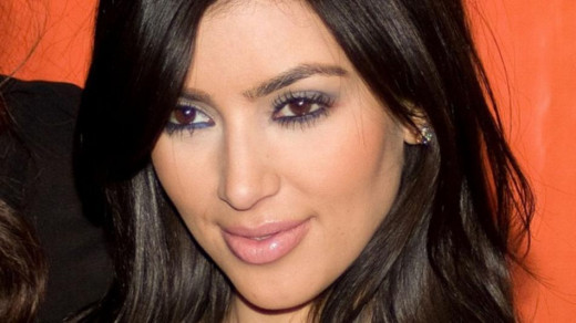 Kim Kardashian and domestic violence