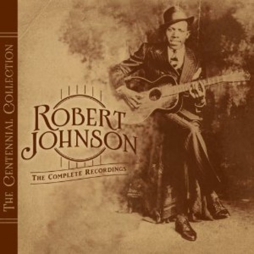 There are very few photos of Robert Johnson that have survived - most of them are on album covers.