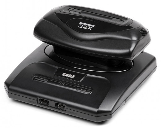 Sega Genesis with a 32X attached