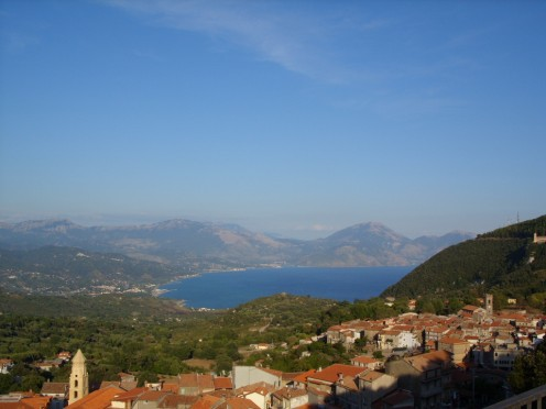 we would never have found this vista if we had not just gone for a drive in southern Italy with no destination in mind.