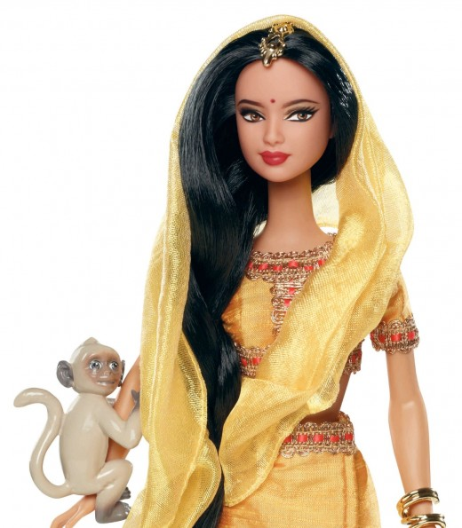 Barbie as the quintessential Indian lady