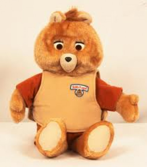 Teddy Ruxpin was released in the 1980s and it is a collectible today if Teddy is found in good condition or new in the box. I had one growing up when I was 7 years old.