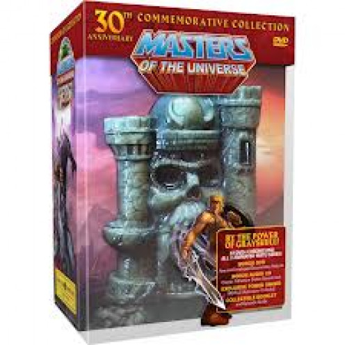 The Masters of the Universe action figures were a highly successful franchise, as seen by this castle.