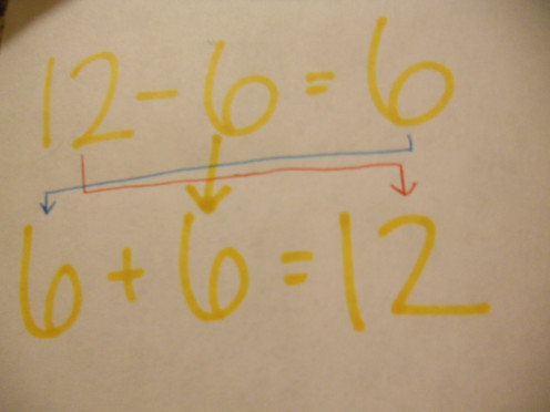 To check a subtraction problem, use addition.
