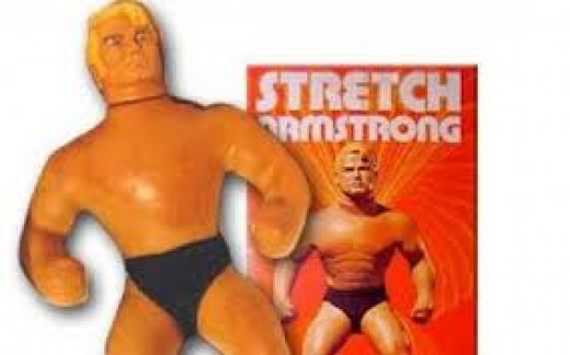 Stretch Armstrong debuted in the 1970s and were a huge it among children. Girls and little boys loved playing with this 70s toy for the ages.