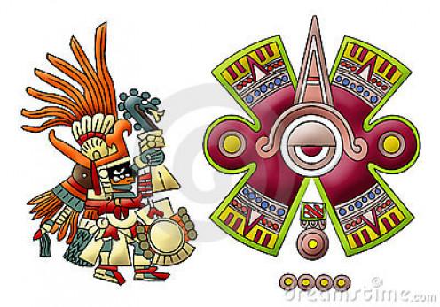 Mayan diety's