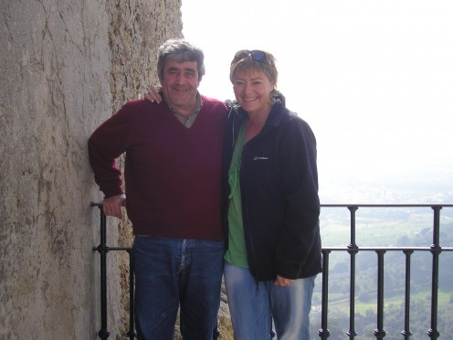 staying with a friends parents in Portugal in their home was a wonderful experience.